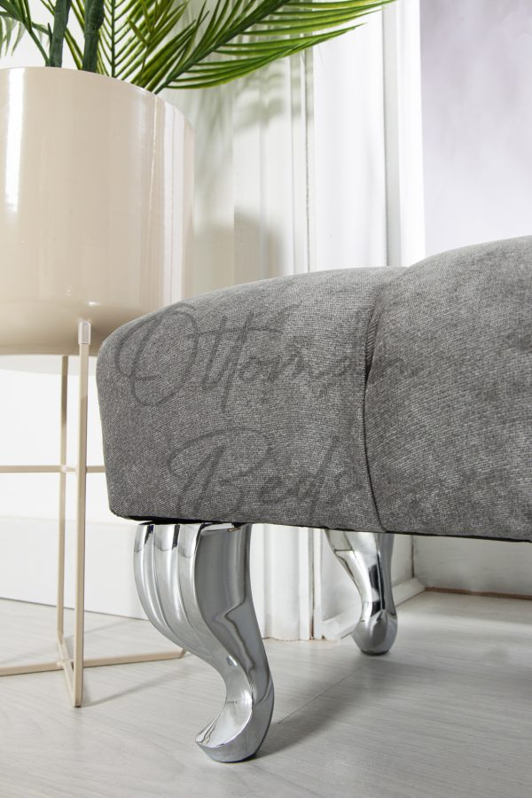line upholstered foot stool 3